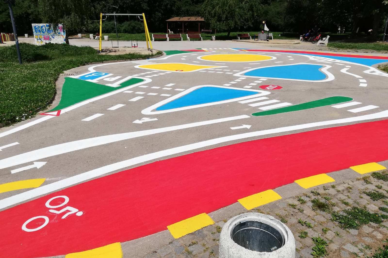 Столичният Южен парк вече е със зона за игри и обучение по безопасност на д