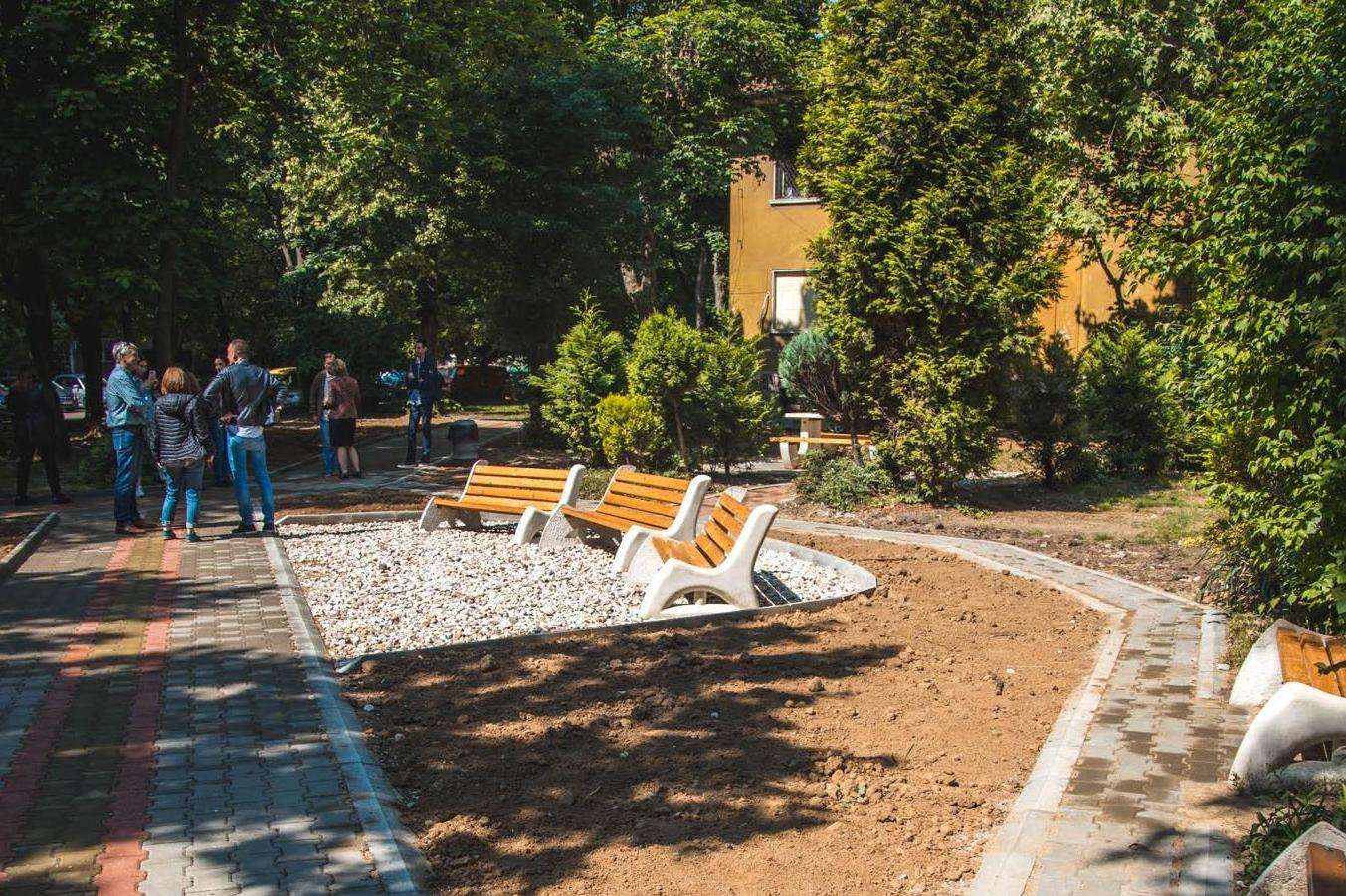 "Столична община облагородява две междублокови пространства в ""Подуяне"""