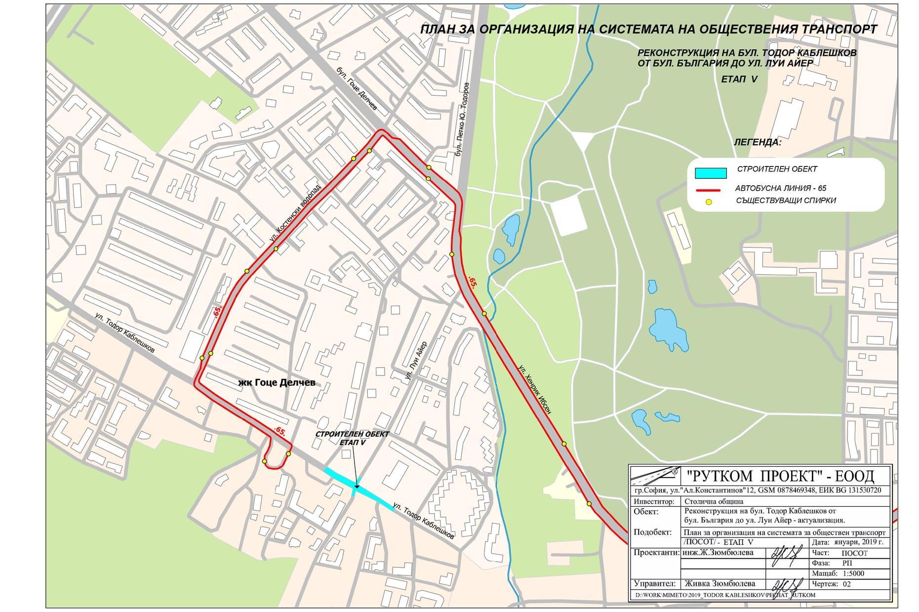 """От 12 юни заради ремонта на """"Каблешков"""": Затварят за движение кръстовището"""