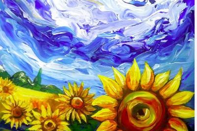 Поле от слънчогледи ще разцъфе на площад Иван Вазов в гр. Костинброд