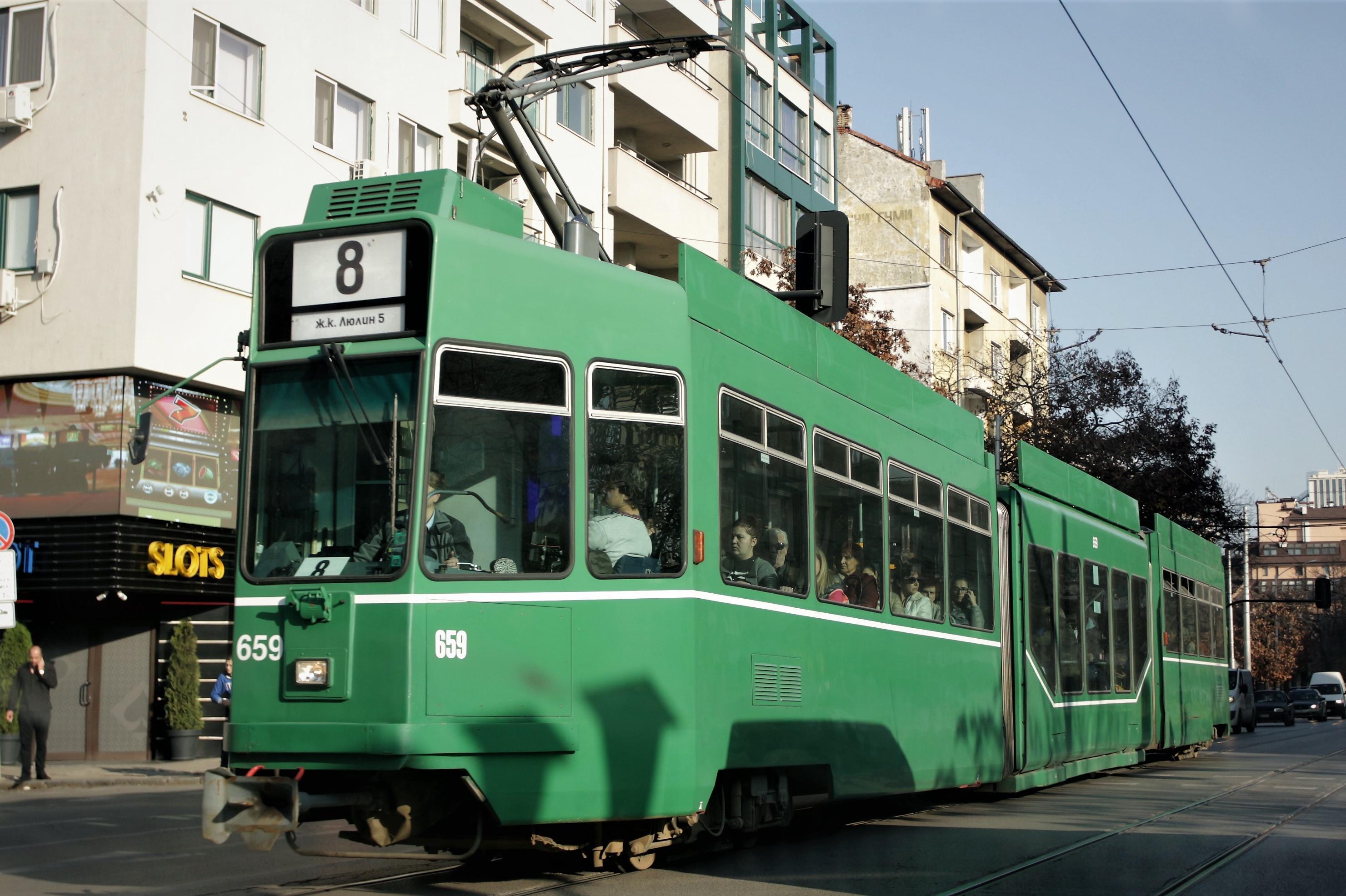 От 20 юни променят маршрутите на трамваи 4,5, 8 и 10