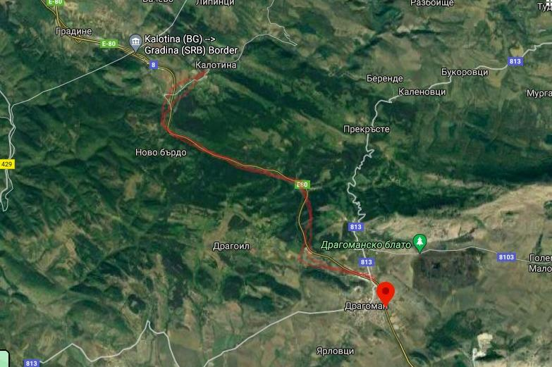 Взривове затварят за 2 часа пътя Калотина - Драгоман