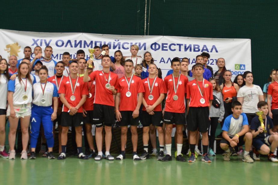 София сред градовете  с най-много медали на олимпийския фестивал в Албена (