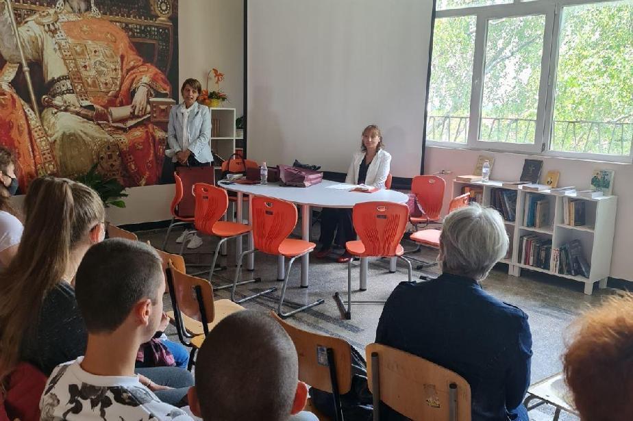 Магистрати от Софийска окръжна прокуратура с лекция пред ученици