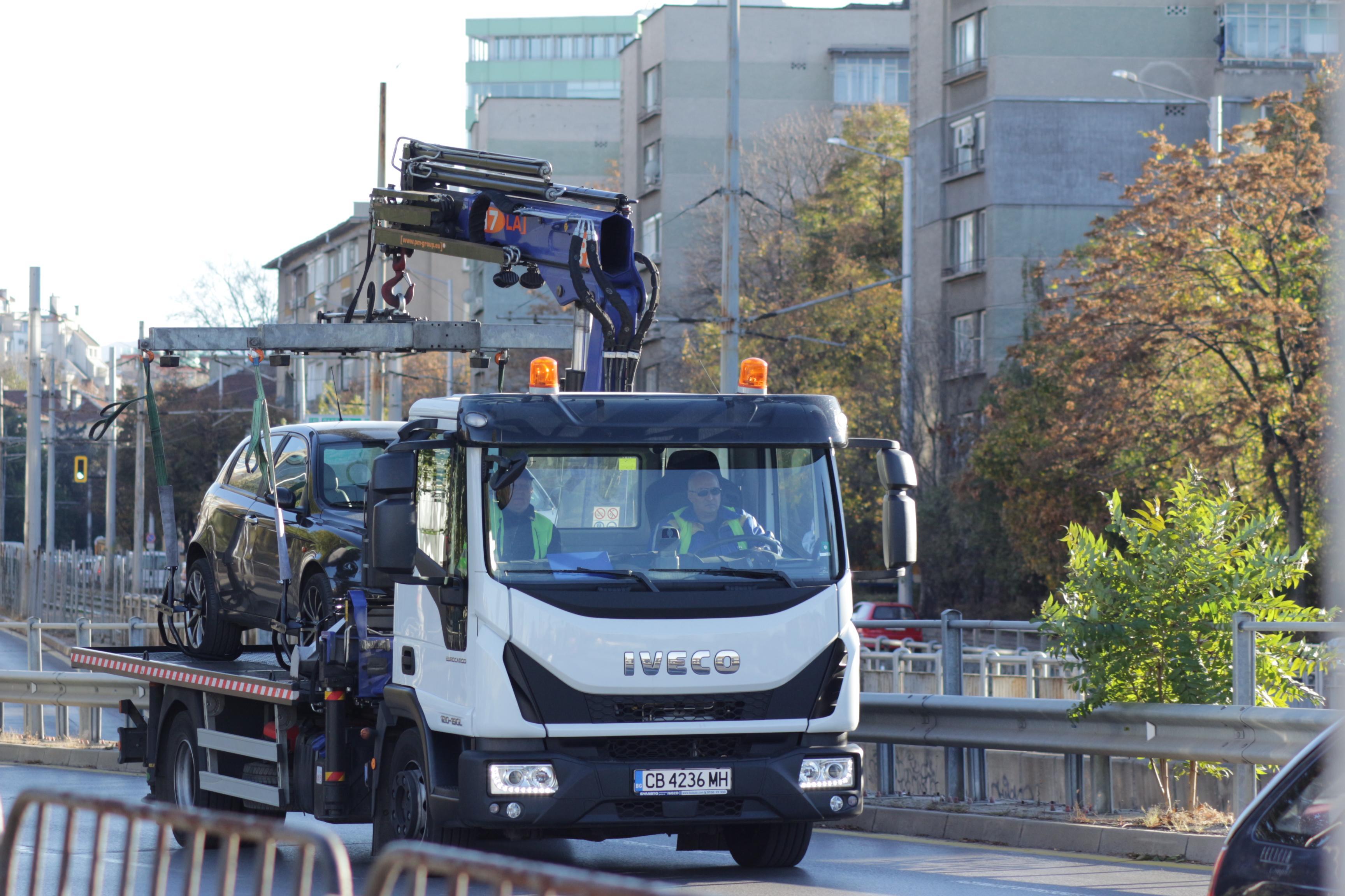 """Без коли по улица """"Кракра"""" заради ремонт на тротоарите до 8 август"""
