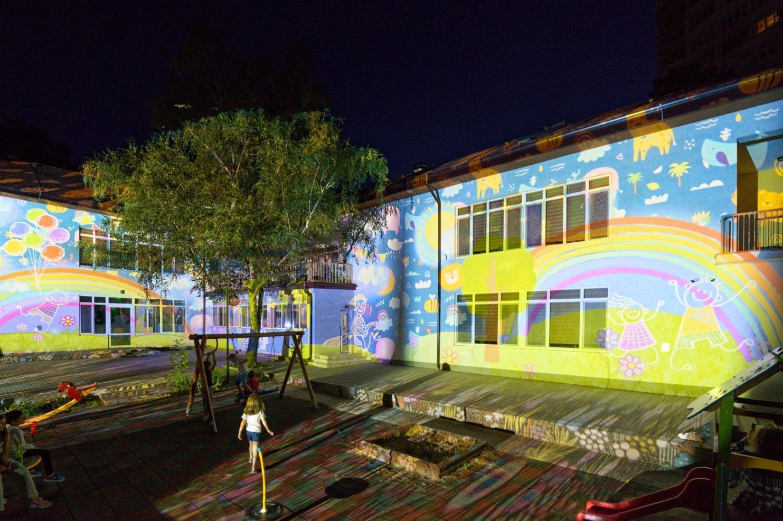 Дарена от Столична община сграда вече е комплексът за ранно детско развитие