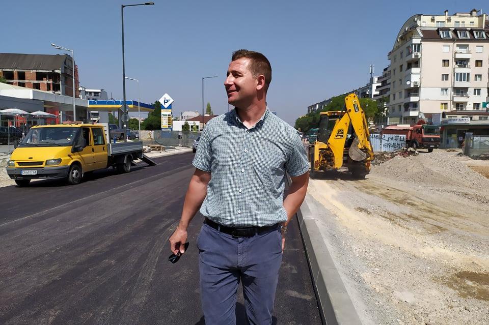"""Следващата седмица приключва ремонтът и пускат движението на """"Каблешков"""" и"""