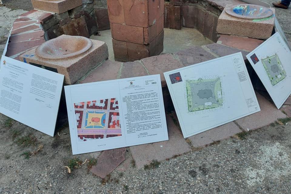 """От """"Триадица"""" правят пътна карта за ремонта на градинката при храм """"Св. Гео"""