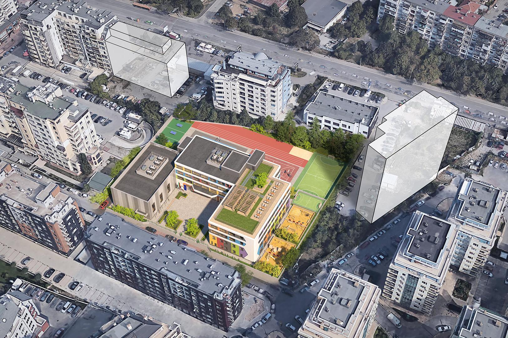 """През 2022 вдигат училище и детска градина в столичния """"Манастирски ливади-з"""