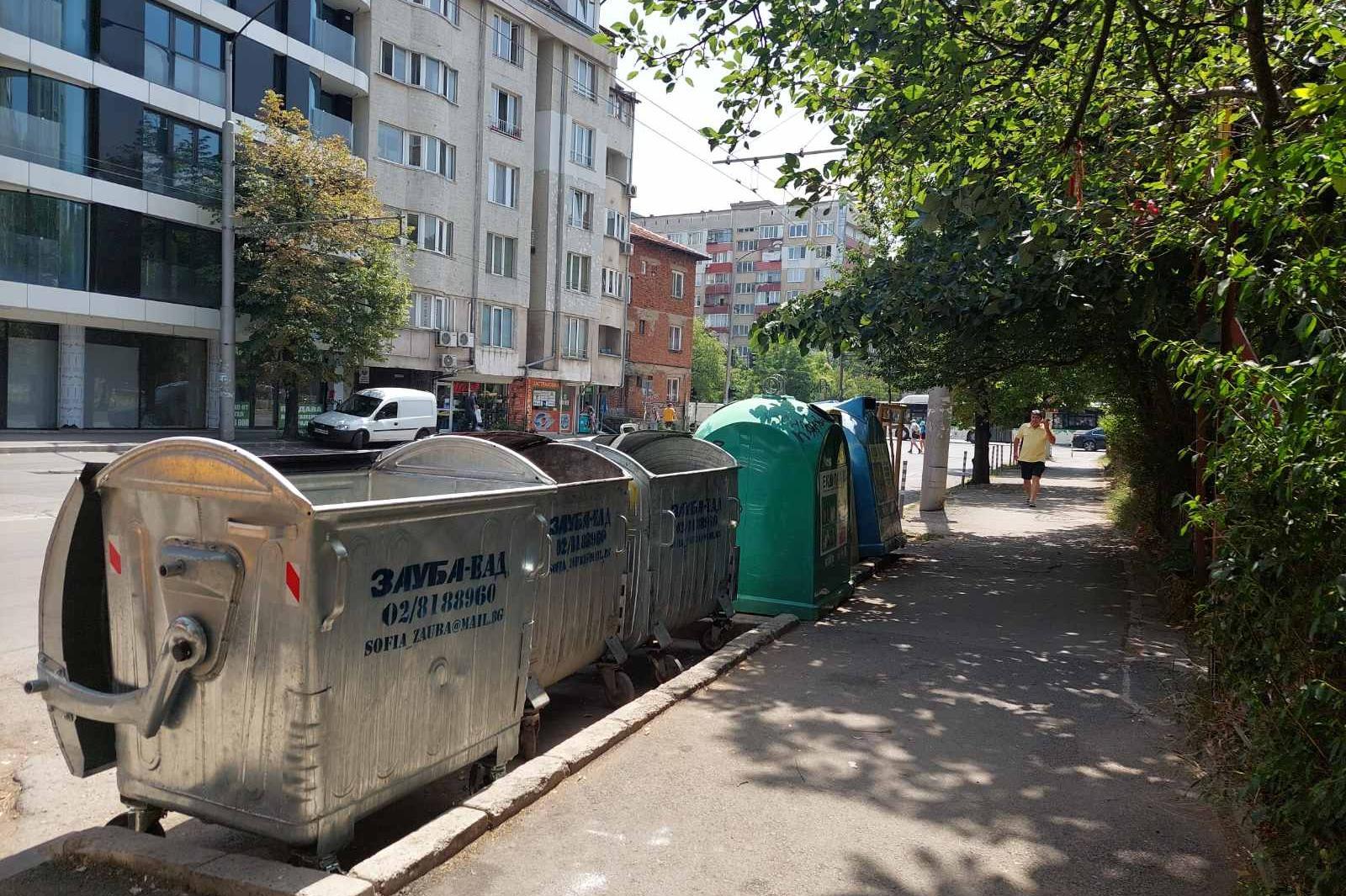 След сигнал на Столица.bg: Изчистиха на ул. Дойран, поставиха още един конт