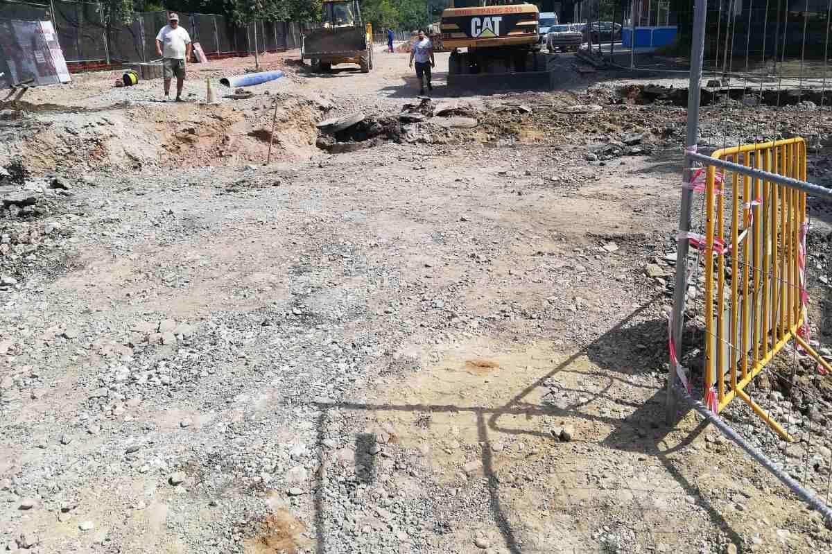 """Глоба за фирмата, която ремонтира ул. """"Николай Коперник"""" за замърсяване на"""