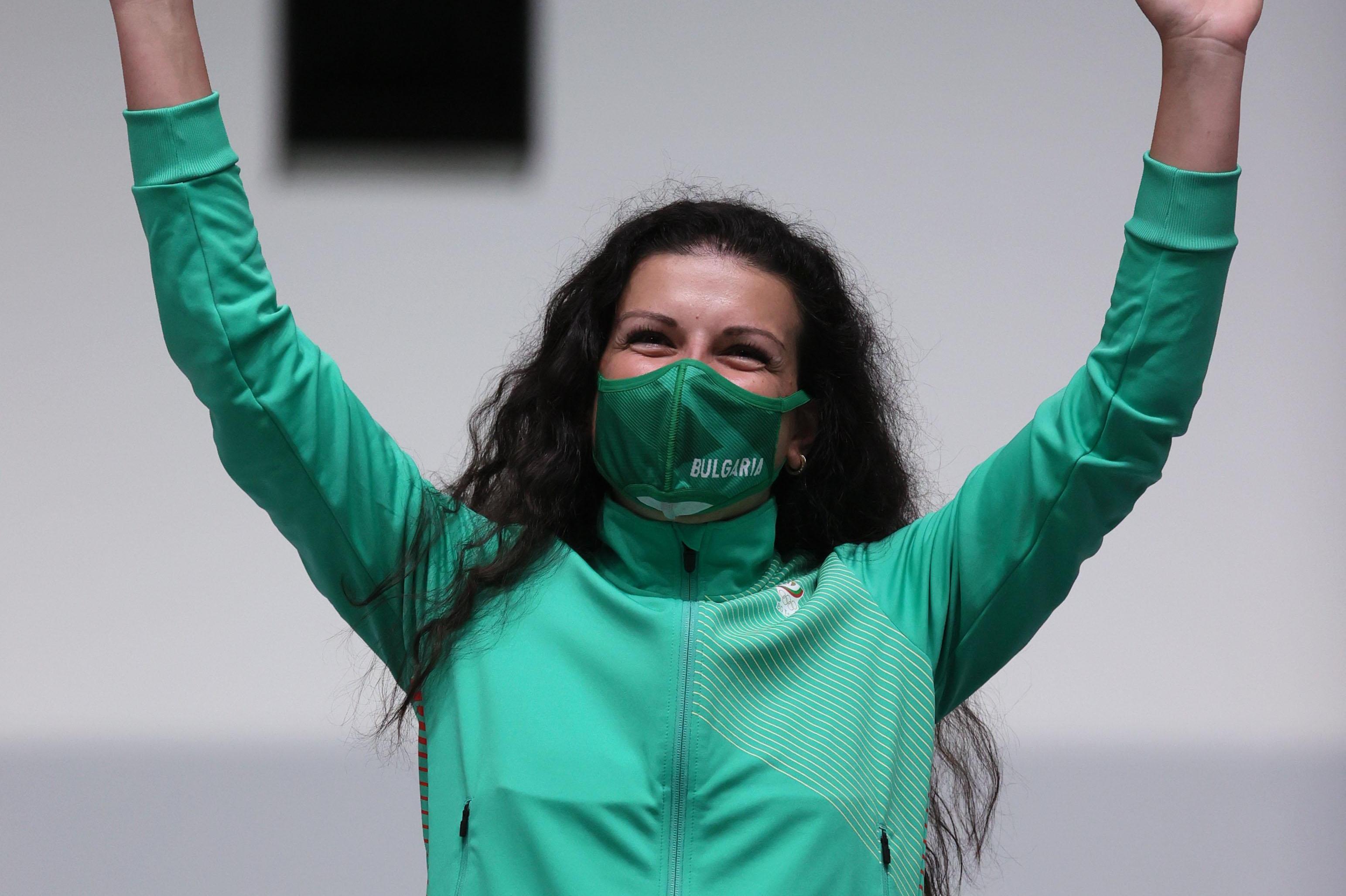 Сребърната Антоанета Костадинова в Токио: Доволна съм, Господ ми е отредил