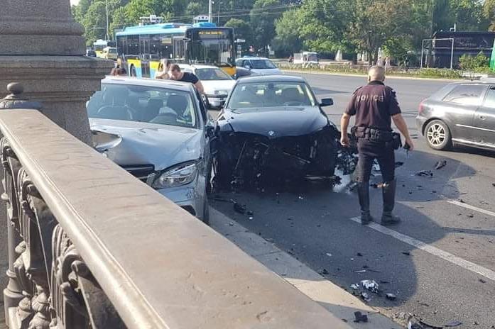 """Катастрофа на """"Орлов мост"""" прати мъж в болница"""