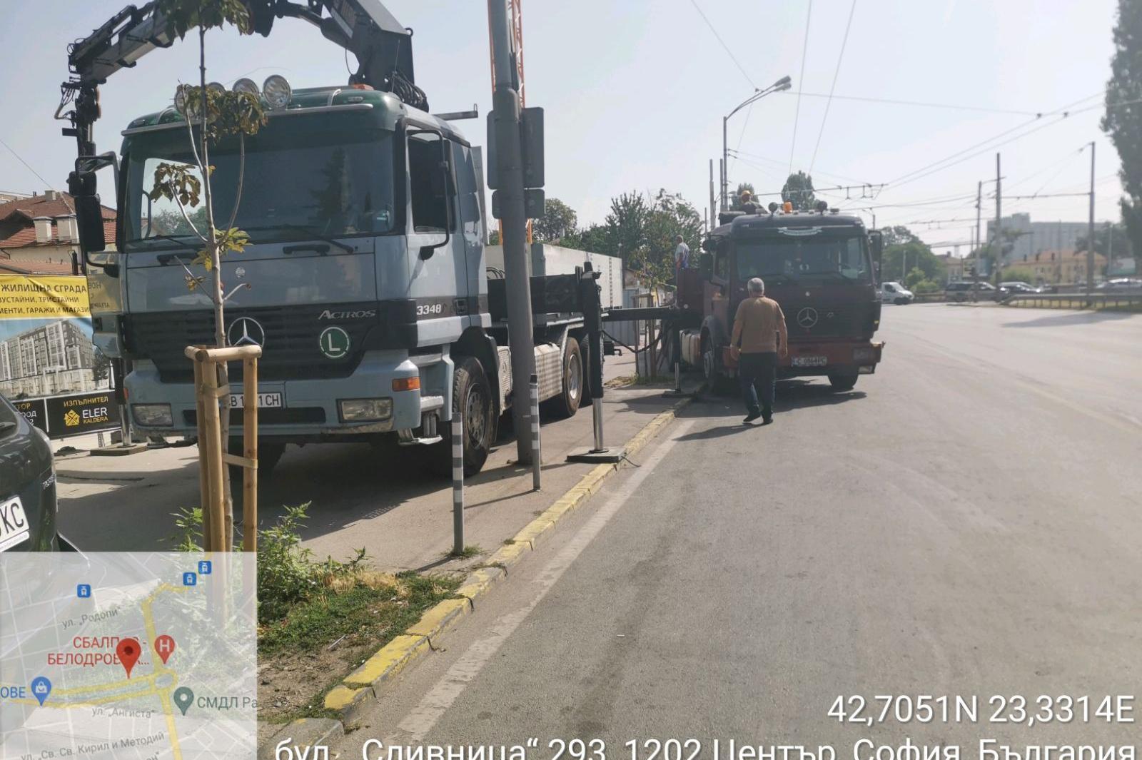 """Актове за строители на бул. """"Сливница"""" и на ул. """"Цар Симеон"""""""