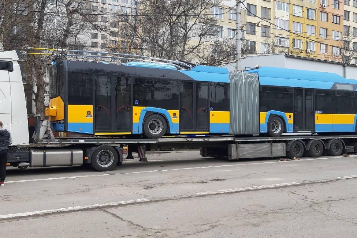 Пускат последните нови тролейбуси в София, обновяването е 100%
