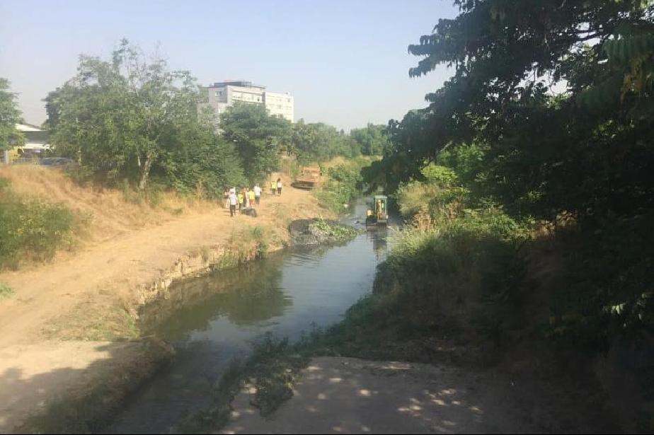 За тази година в София се почистват 54 километра речни корита