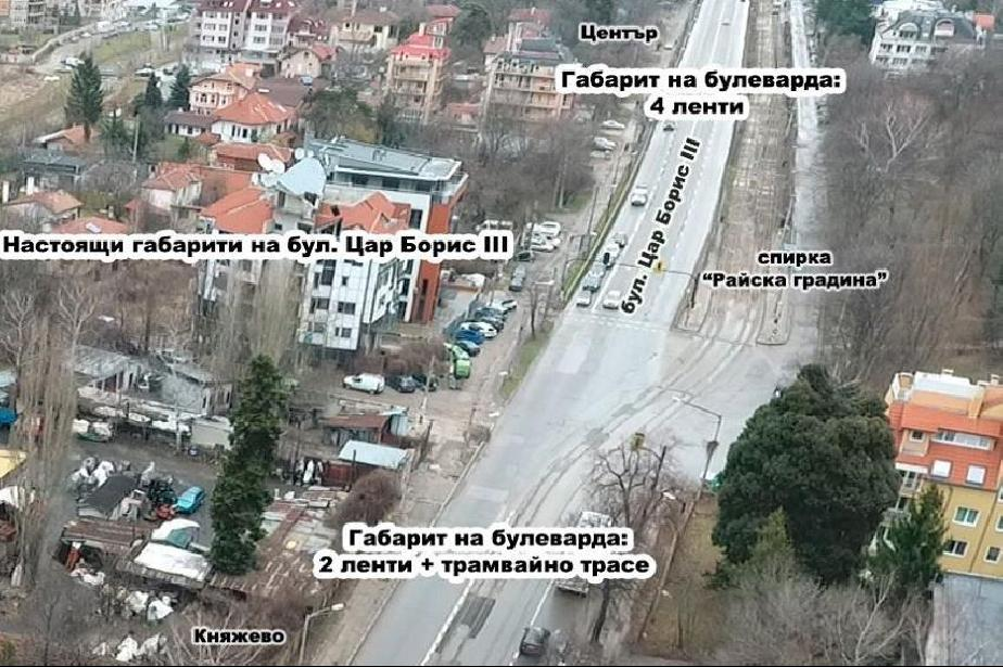 По настояване на княжевци няма да има тунел на кръстовището на Околовръстно
