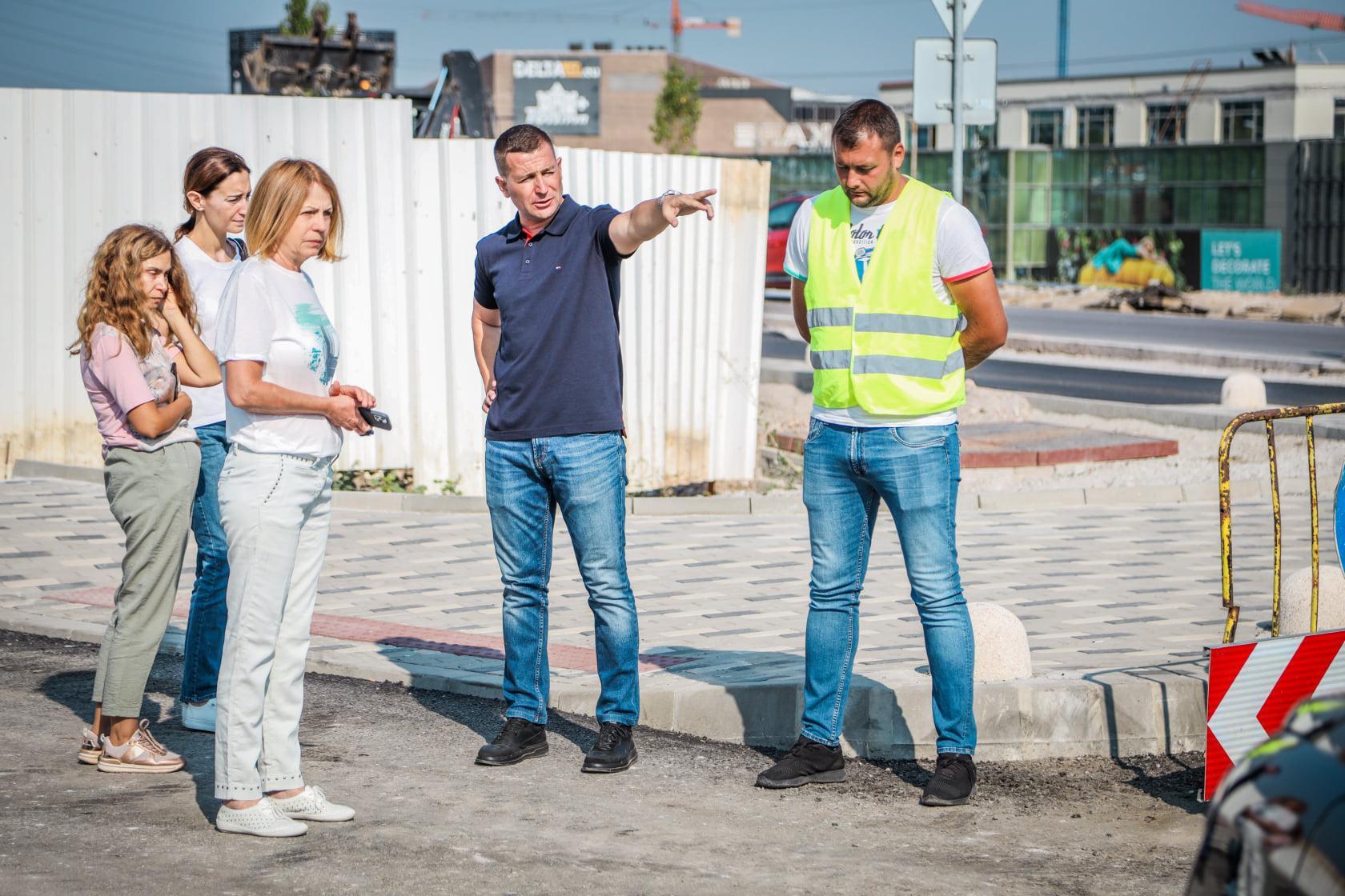 """Отварят през септември разширението, нова улица и кръгово при """"Витошки камб"""