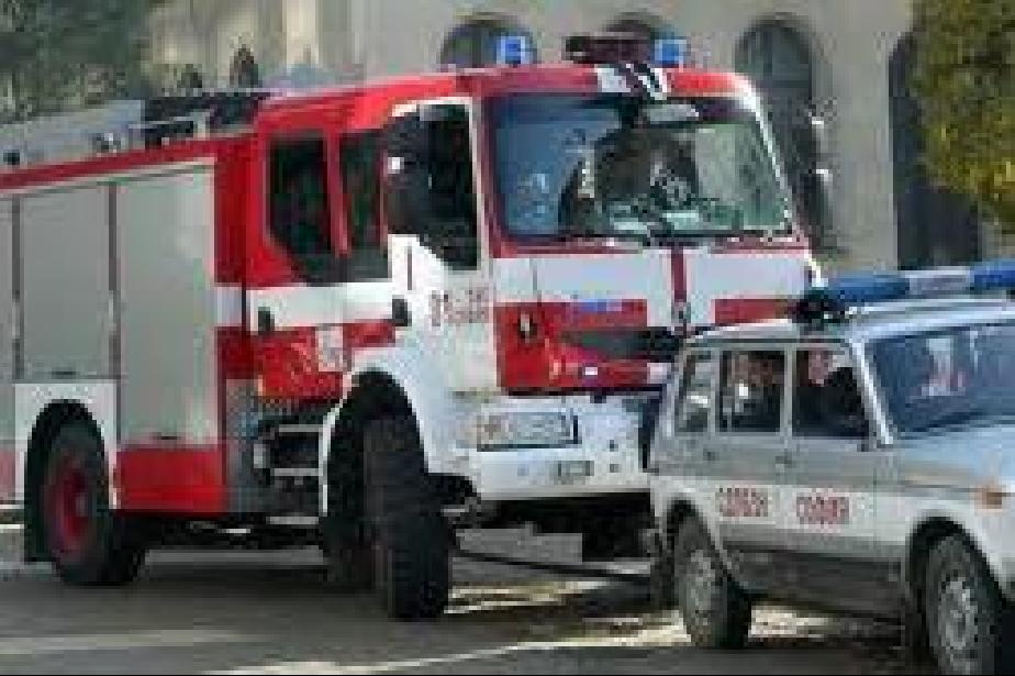 Пожар затвори пътя между Големо и Мало Бучино