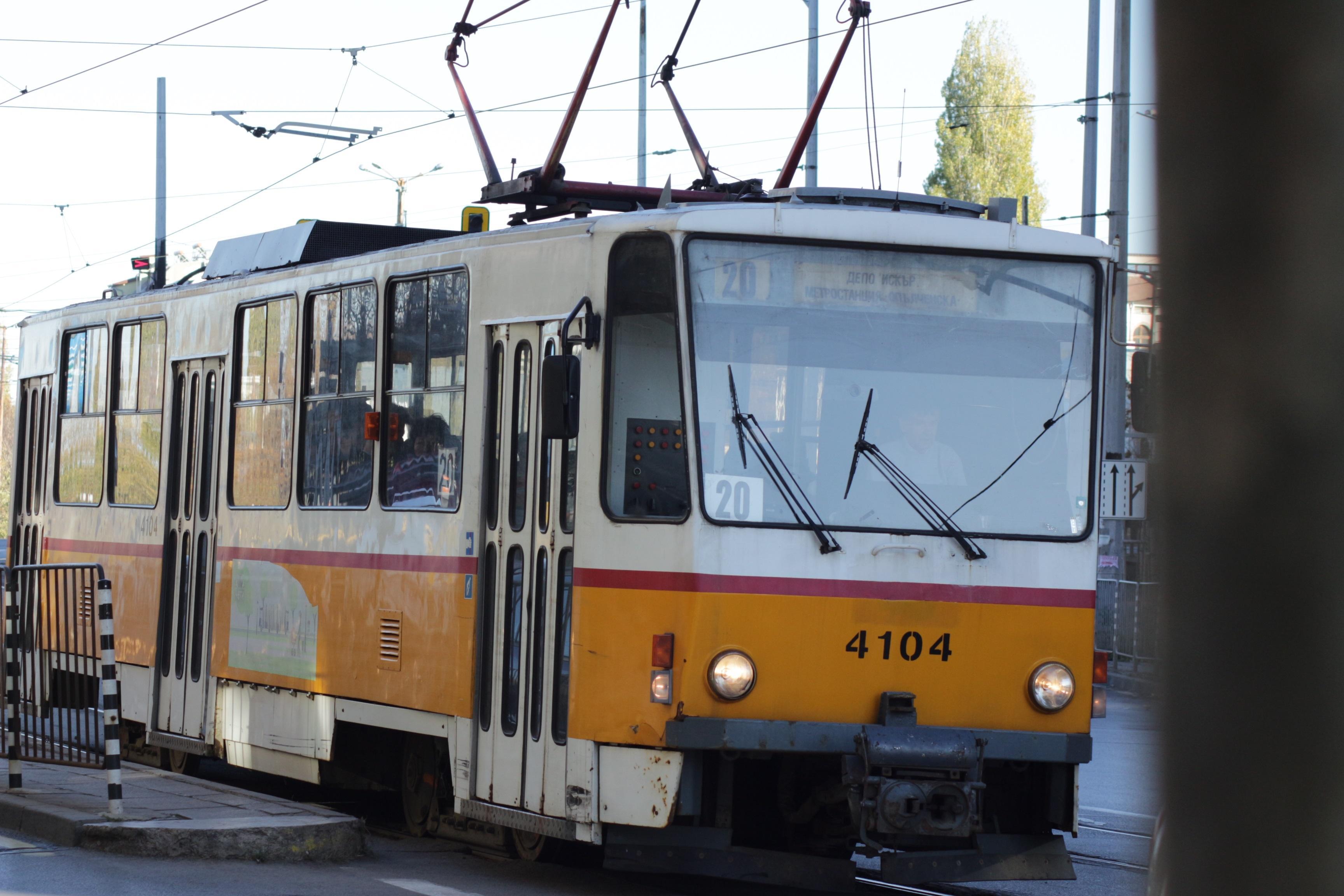 За 3 дни променят маршрута на трамваи 20 и 22,  ремонтират участъка от ул.
