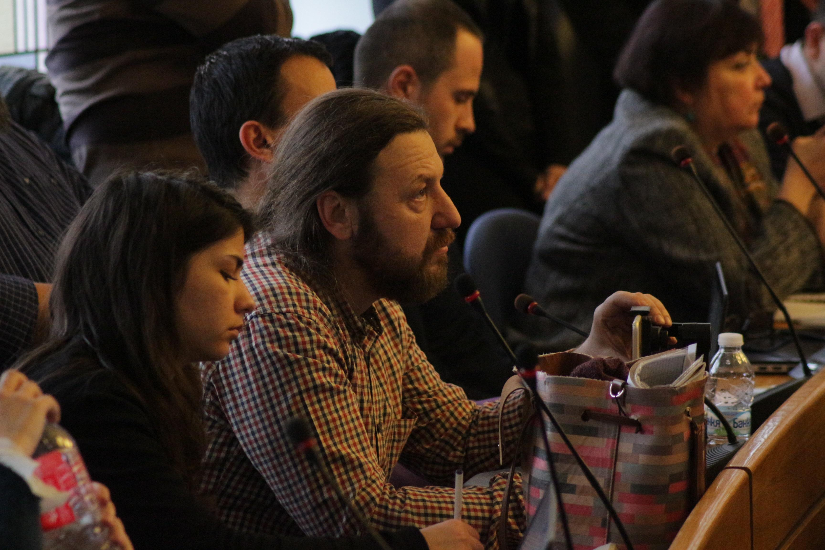 """Кметът на Слатина дава отчет пред гражданите на открита среща в парк """"Гео М"""