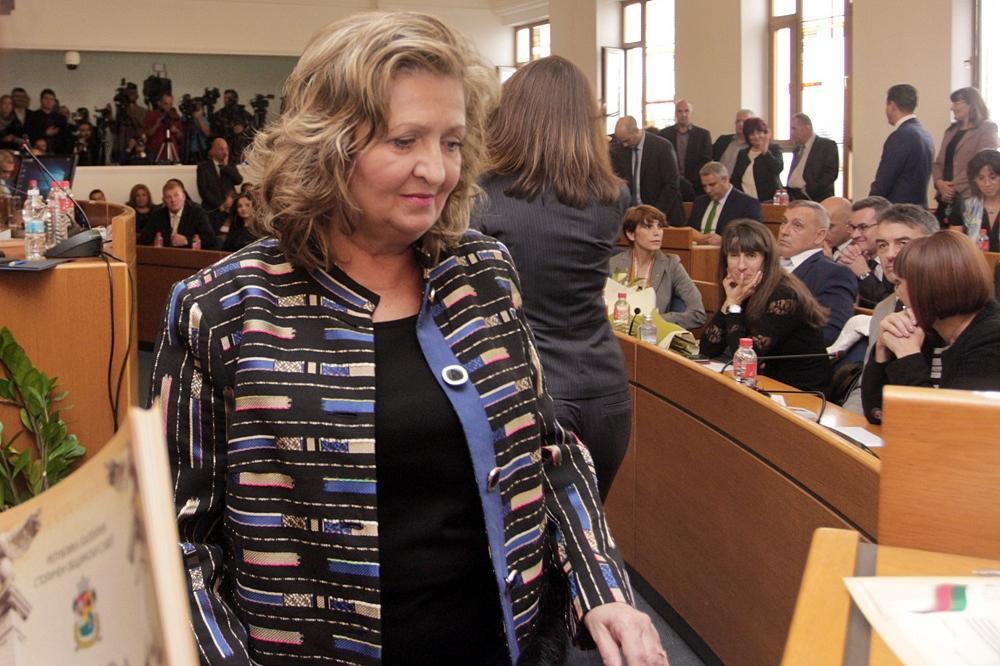 Грети Стефанова замени Методи Лалов като пресдесател на Демократична Българ