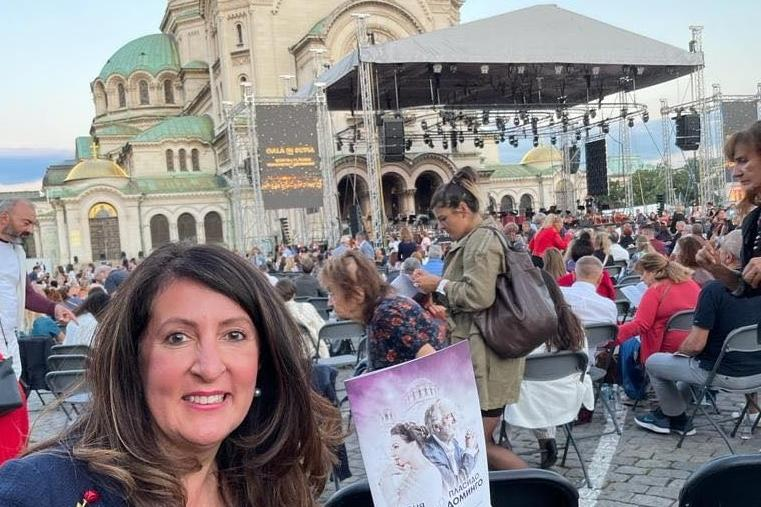 Посланик Херо Мустафа впечатлена от концерта на Соня Йончева и Пласидо Доми