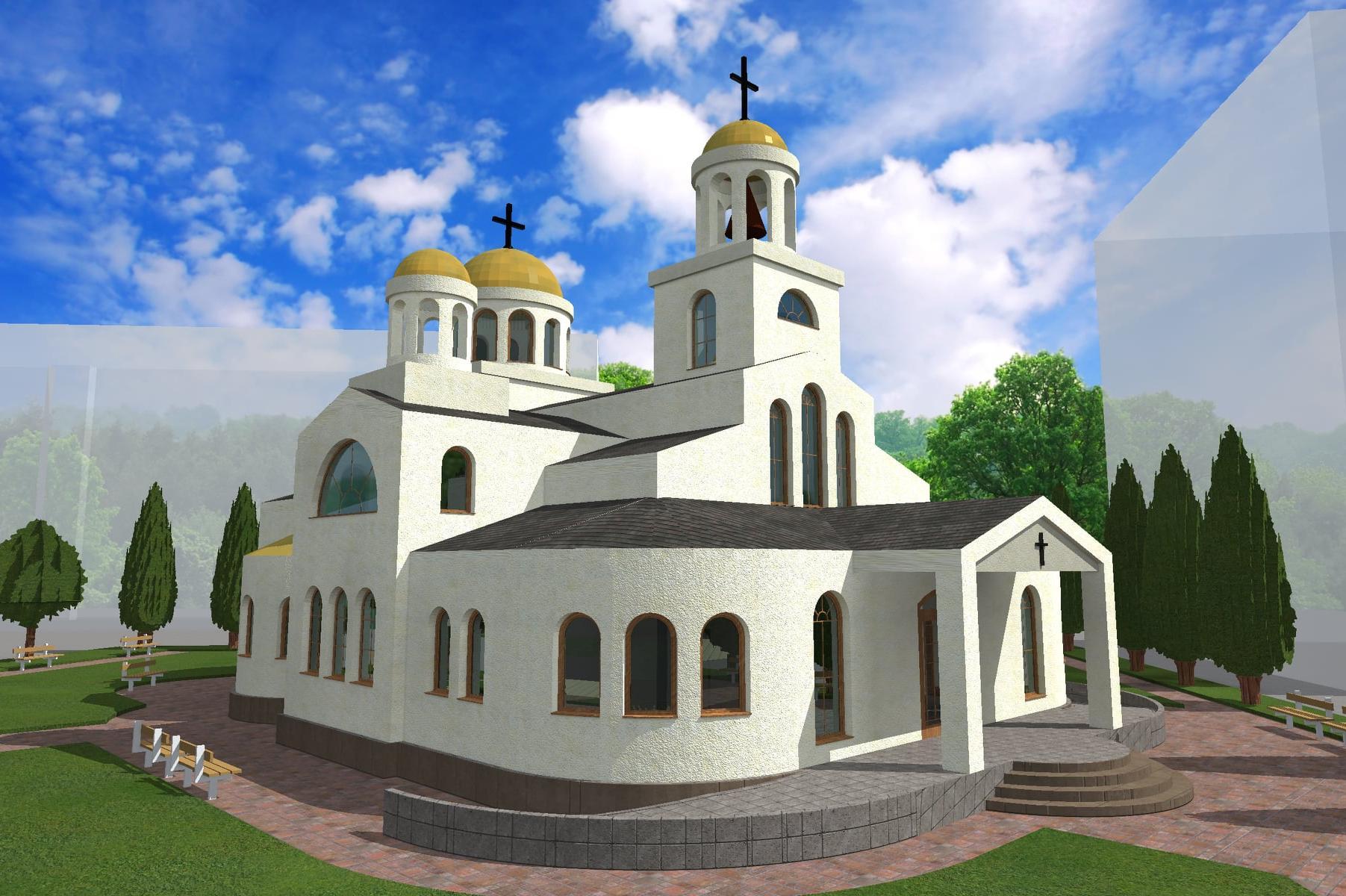 """Започва градежът на църква """"Св. Серафим Софийски Чудотворец"""" в Надежда 3"""