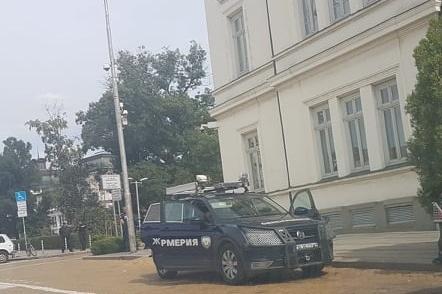 """Задръстване в центъра на София, протест затвори """"Цар Освободител"""""""