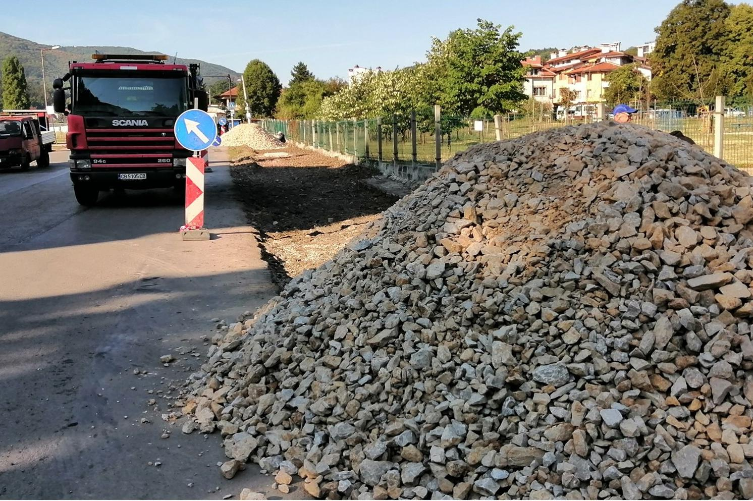 """Район """"Витоша"""" ремонтира стълби и тротоари около 26. СУ """"Йордан Йовков"""" в К"""
