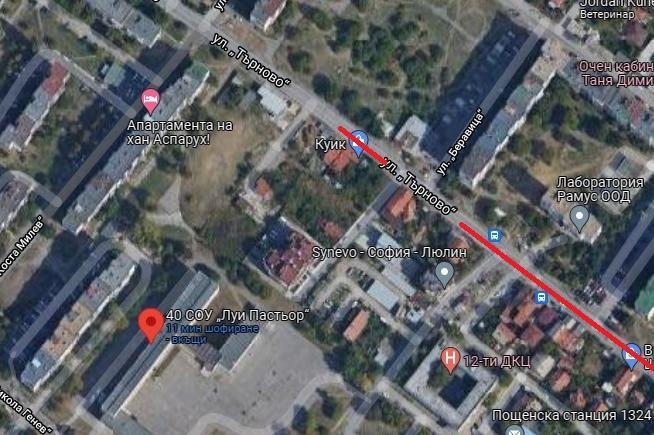 Деца не могат да пресекат улица до 40. СУ в столичния Люлин 9