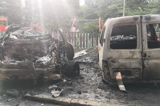 """Три коли са били запалени през нощта в """"Гоце Делчев"""""""
