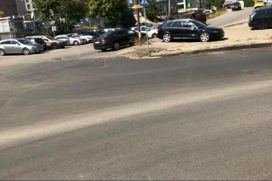 Столичанин сигнализира за липса на обозначена пешеходна пътека на бул. Бълг