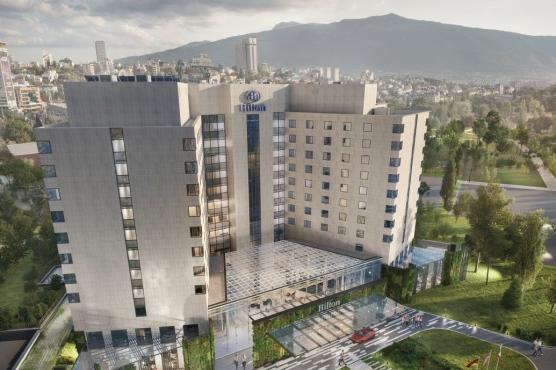 Представиха проект за трансформация на хотел Хилтън в София