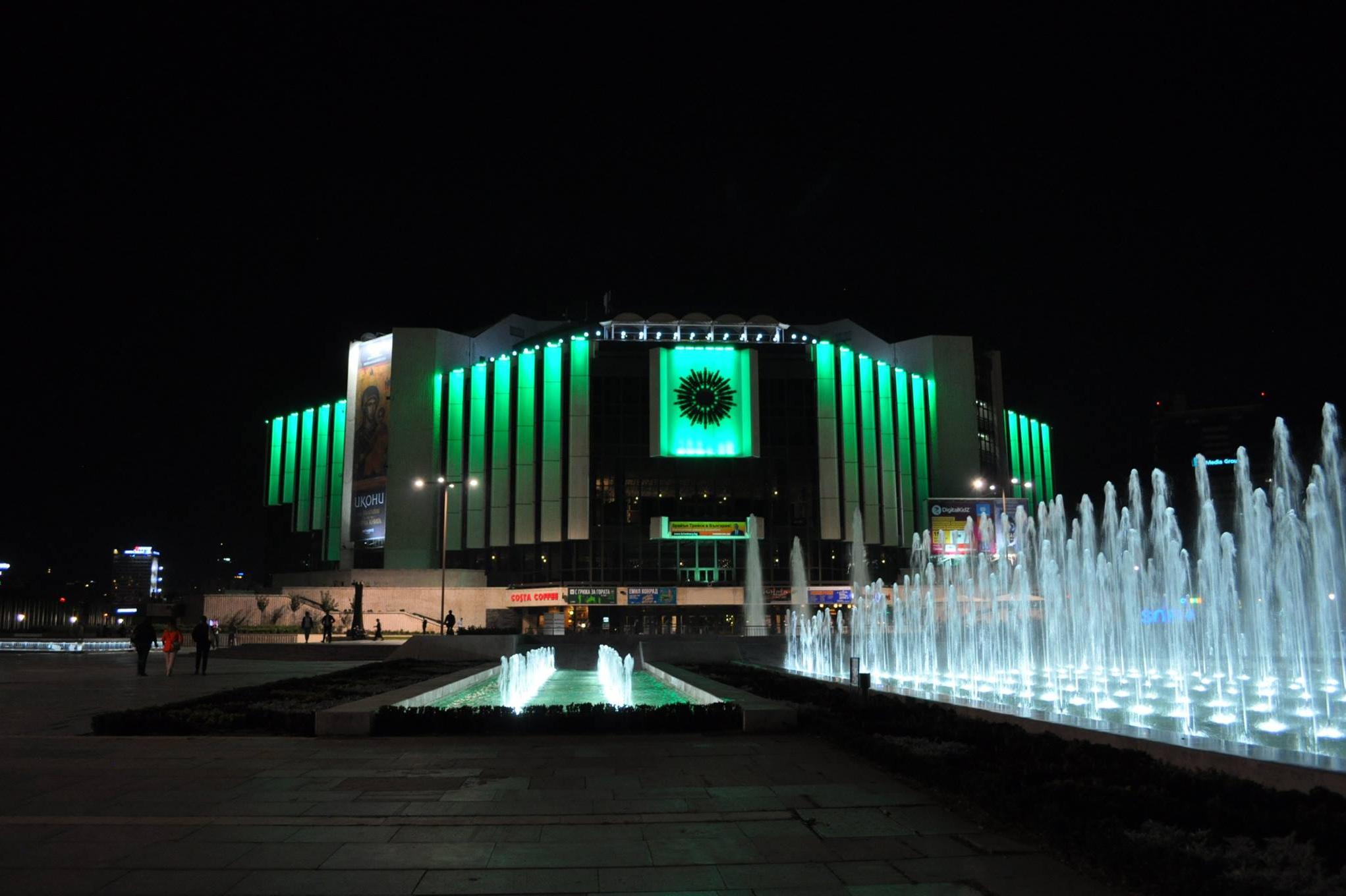 НДК в зелено